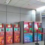 Vending Machine di Sejumlah Stasiun KRL