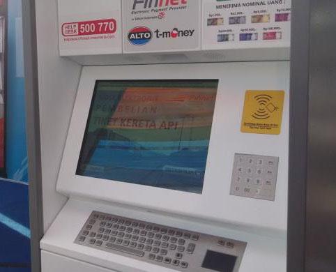 Mesin e-kiosk