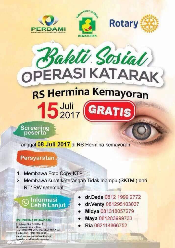 Operasi Katarak RS Hermina Tangerang