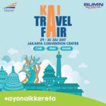 Diskon besar-besaran tiket Kereta Api di KAI Travel Fair