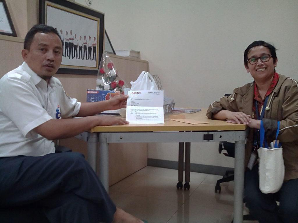 KMP Bertandang Ke Balai Yasa Manggarai