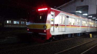 Tokyo Metro 6000 Seri 6129F Akhirnya Berdinas di Indonesia Dengan Tampilan Terbarunya