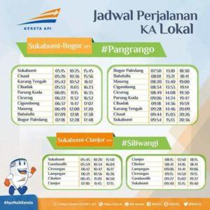 KA Pangrango Bogor - Sukabumi