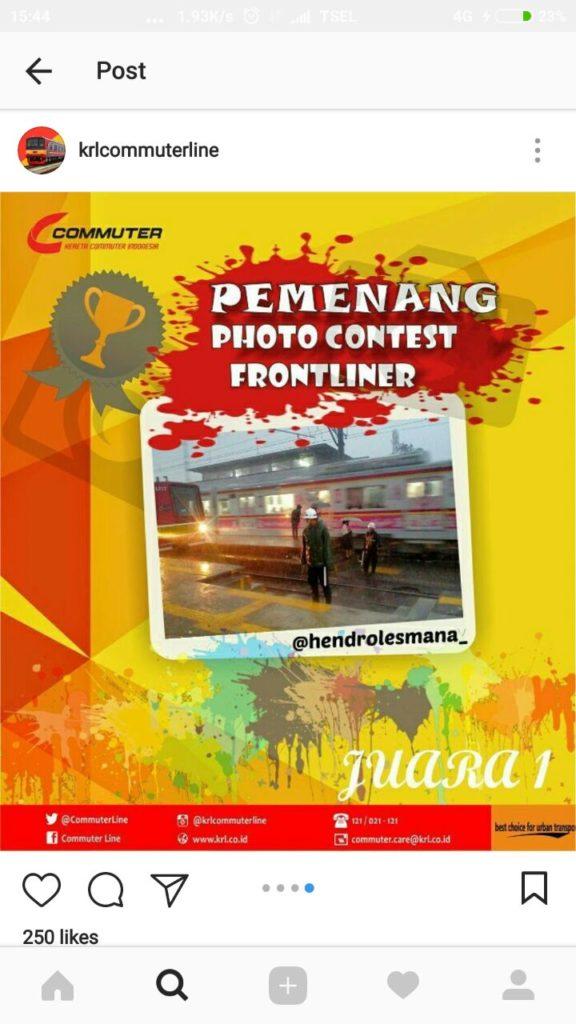KMP Tim Juara I Photo Contest Fronliner KCI