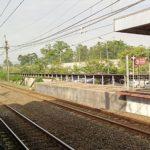 MANGKRAK Perpanjangan Peron Beberapa Stasiun Greenline