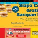 GRATIS : Siapa Cepat Dapat Chicken Muffin Mc Donald