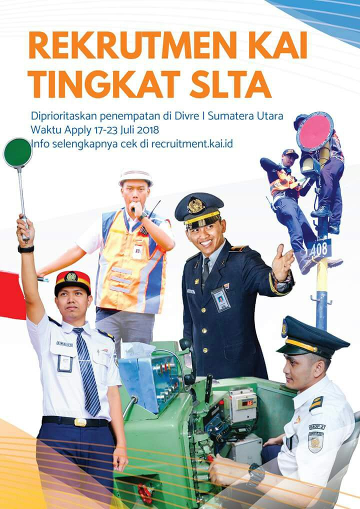 Rekrutmen KAI 2018 Tingkat SLTA