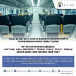 Railink Terapkan Penomoran Tempat Duduk KA Bandara SHIA