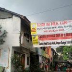 Lokasi Pembongkaran di Kawasan Stasiun Manggarai (Dokumentasi Foto : Tribunnews.com
