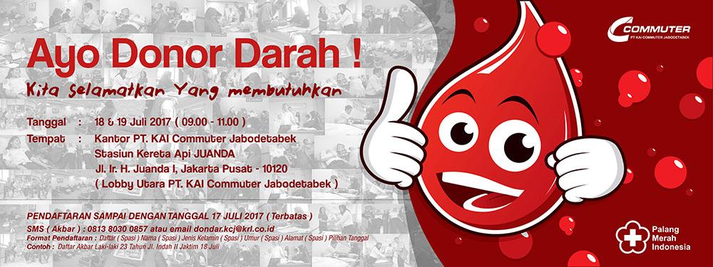 Donor Darah KCJ 2017