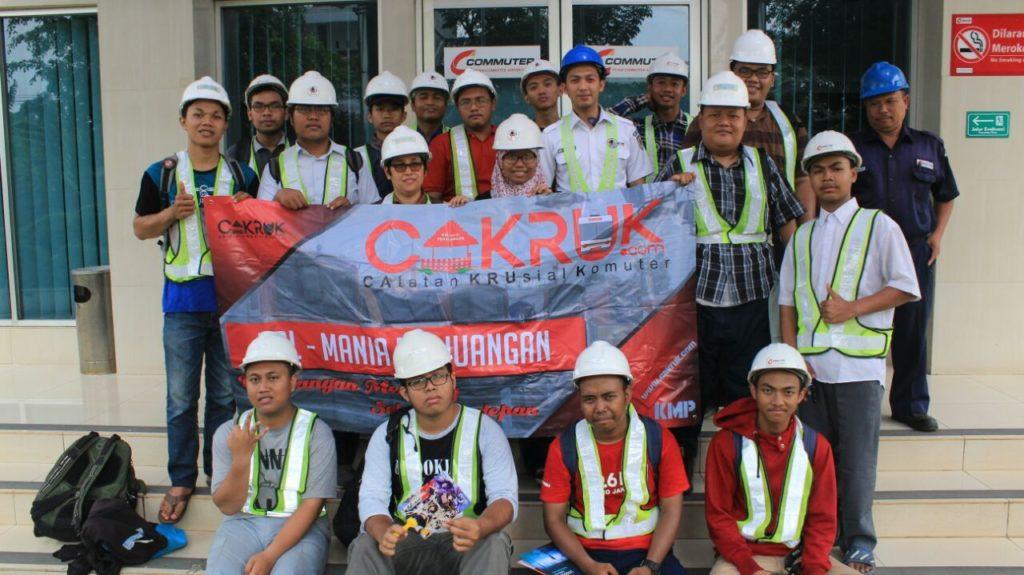 Kunjungan KMP Ke Dipo KRL Depok