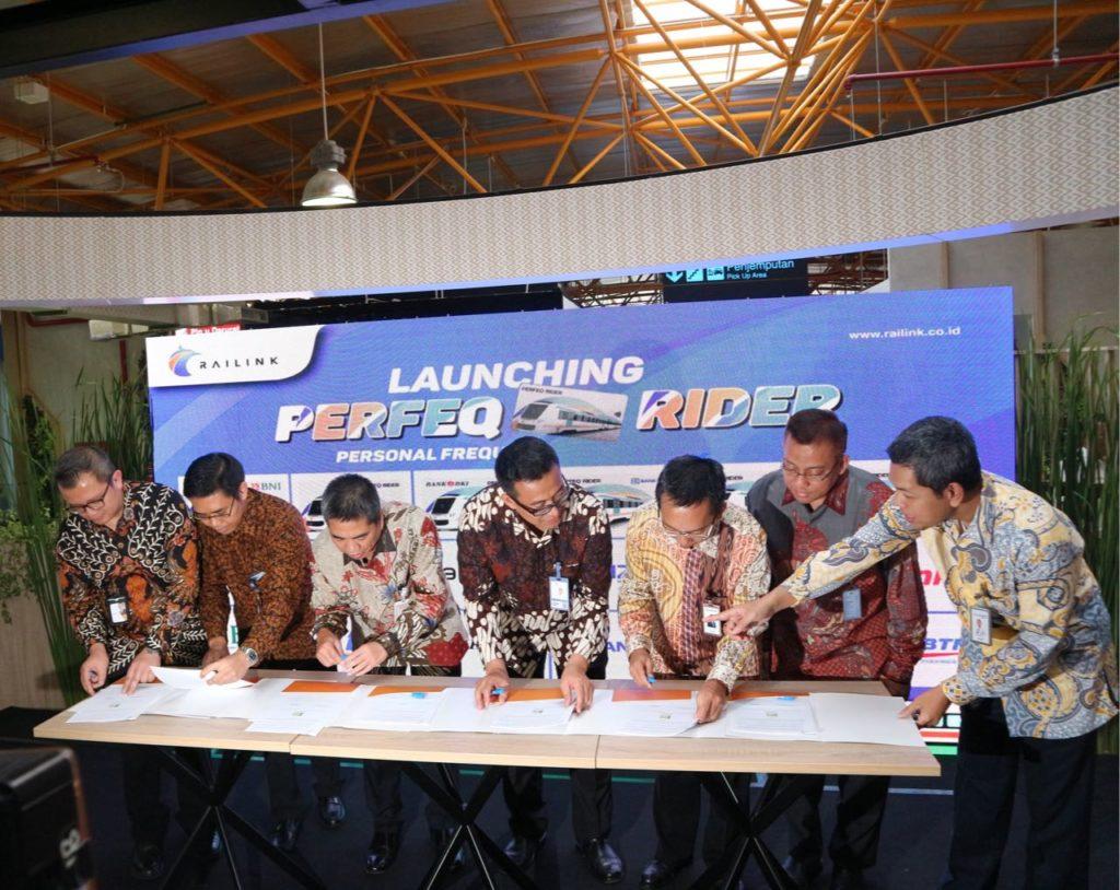 Sukseskan Mudik Lebaran 2018 : Railink Launching PERFEQ RIDER