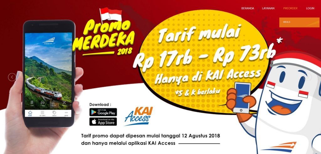 Promo Merdeka : HUT-73 Republik Indonesia