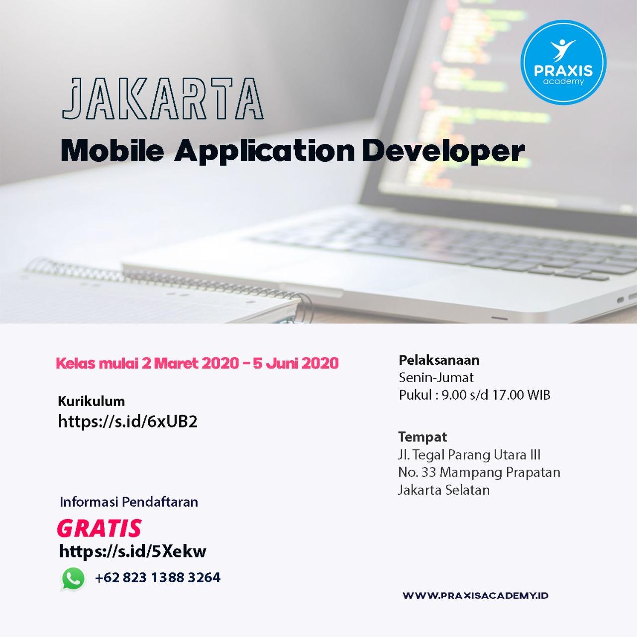 FREE : Developer Bootcamp At Jakarta | CAKRUK